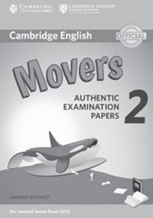 Cambridge English Young Learners 2 for Revised Exam from 2018 Movers Answer Booklet by  (9781316636275) - PaperBack - Education IELT & ESL