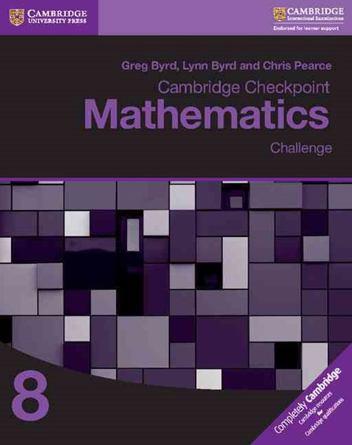 Cambridge Checkpoint Mathematics Challenge Workbook 8