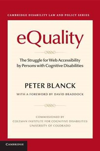 eQuality by Peter Blanck, David Braddock (9781316638132) - PaperBack - Reference Law