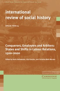 Conquerors, Employers and Arbiters by Karin Hofmeester, Gijs Kessler, Christine Moll-Murata (9781316642528) - PaperBack - History