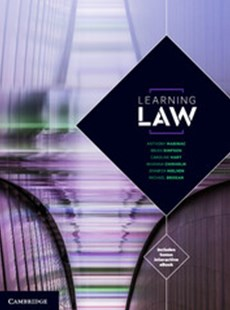 Learning Law by Anthony Marinac, Brian Simpson, Caroline Hart, Rhianna Chisholm, Jennifer Nielsen, Michael Brogan (9781316642795) - PaperBack - Reference Law