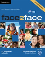 face2face Pre-intermediate Student's Book with DVD-ROM Romanian Edition