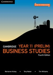 Cambridge Year 11 (Prelim) Business Studies 4th Edition Pack (Textbook and Interactive Textbook)