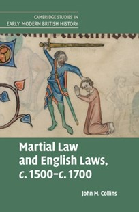 (ebook) Martial Law and English Laws, c.1500-c.1700 - History European