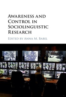 (ebook) Awareness and Control in Sociolinguistic Research - Reference