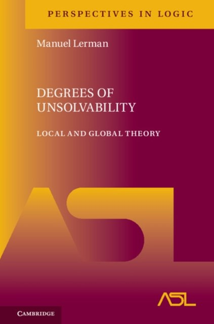 (ebook) Degrees of Unsolvability
