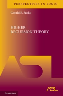 (ebook) Higher Recursion Theory - Science & Technology Mathematics