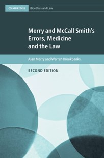 (ebook) Merry and McCall Smith's Errors, Medicine and the Law - Reference Law