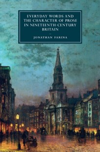 (ebook) Everyday Words and the Character of Prose in Nineteenth-Century Britain - Reference