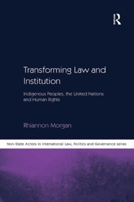 Transforming Law and Institution