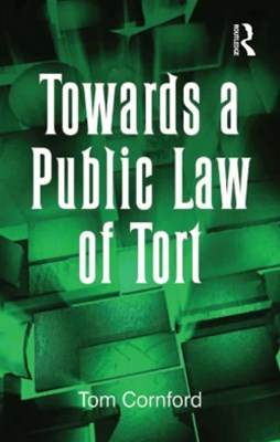 (ebook) Towards a Public Law of Tort
