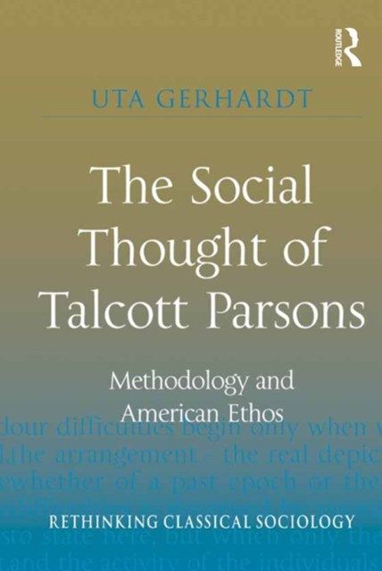 (ebook) The Social Thought of Talcott Parsons