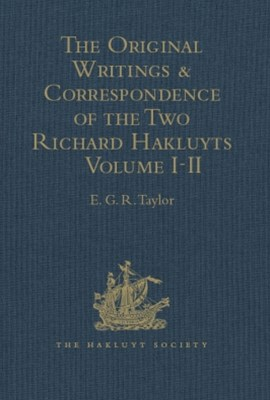 (ebook) The Original Writings and Correspondence of the Two Richard Hakluyts