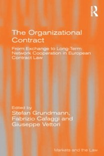 (ebook) Organizational Contract - Reference Law