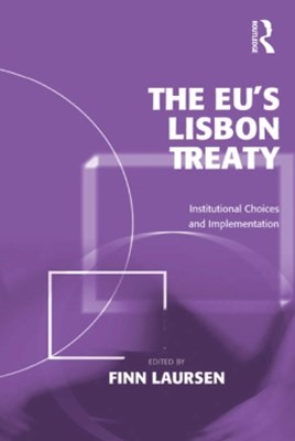 (ebook) The EU's Lisbon Treaty