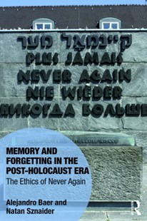 (ebook) Memory and Forgetting in the Post-Holocaust Era - History Modern
