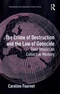 (ebook) Crime of Destruction and the Law of Genocide - Reference Law