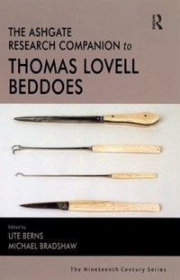 (ebook) Ashgate Research Companion to Thomas Lovell Beddoes - Entertainment Theatre