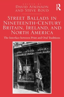 (ebook) Street Ballads in Nineteenth-Century Britain, Ireland, and North America - Entertainment Music General