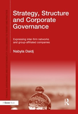 (ebook) Strategy, Structure and Corporate Governance