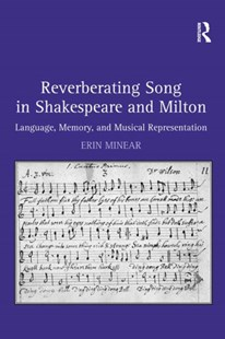 (ebook) Reverberating Song in Shakespeare and Milton - Poetry & Drama Plays
