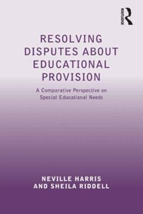 (ebook) Resolving Disputes about Educational Provision - Education Trade Guides