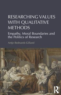 (ebook) Researching Values with Qualitative Methods - Politics Political Issues
