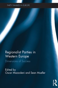 (ebook) Regionalist Parties in Western Europe - Politics Political Issues