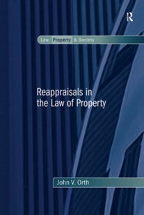 (ebook) Reappraisals in the Law of Property - Reference Law