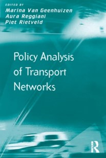 (ebook) Policy Analysis of Transport Networks - Business & Finance Organisation & Operations