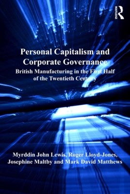 Personal Capitalism and Corporate Governance