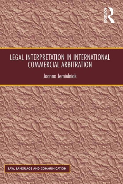 (ebook) Legal Interpretation in International Commercial Arbitration