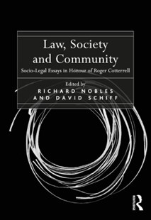 (ebook) Law, Society and Community - Reference Law