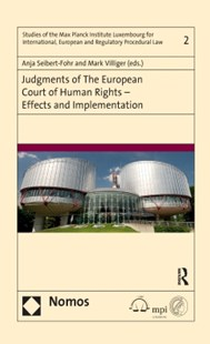 (ebook) Judgments of the European Court of Human Rights – Effects and Implementation - Politics Political Issues