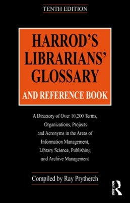 (ebook) Harrod's Librarians' Glossary and Reference Book