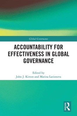 (ebook) Accountability for Effectiveness in Global Governance