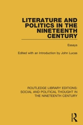 Literature and Politics in the Nineteenth Century