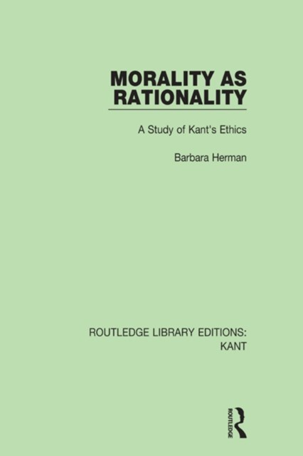 Morality as Rationality
