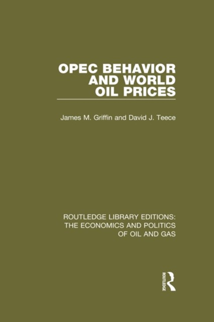 (ebook) OPEC Behaviour and World Oil Prices