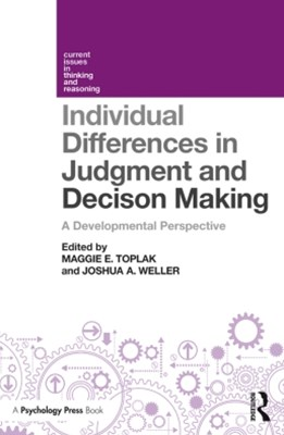 (ebook) Individual Differences in Judgement and Decision-Making
