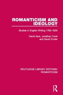 (ebook) Romanticism and Ideology
