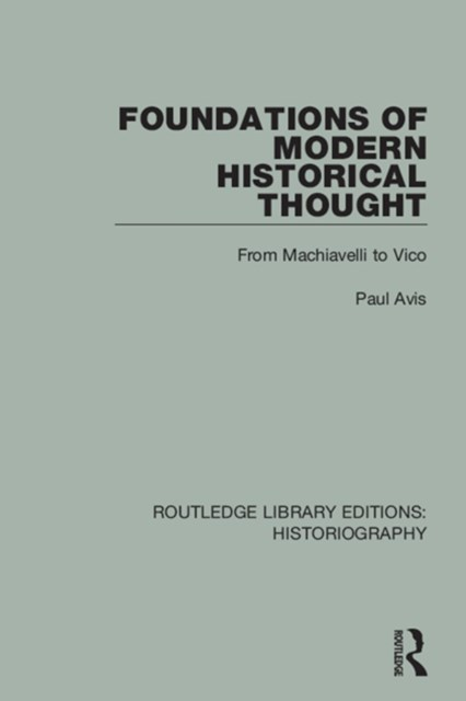 (ebook) Foundations of Modern Historical Thought