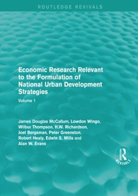 (ebook) Economic Research Relevant to the Formulation of National Urban Development Strategies