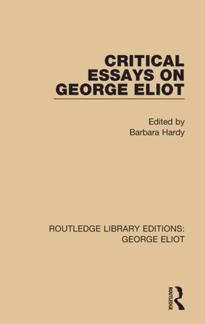 (ebook) Critical Essays on George Eliot