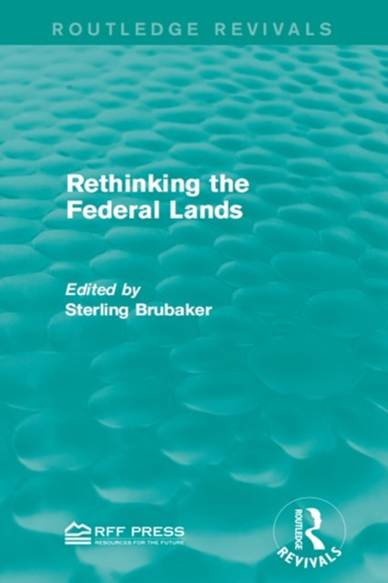 (ebook) Rethinking the Federal Lands
