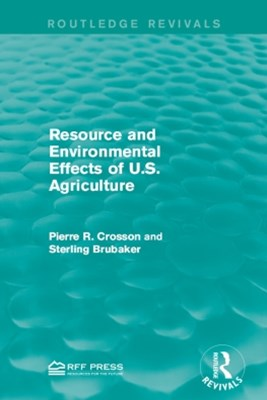(ebook) Resource and Environmental Effects of U.S. Agriculture
