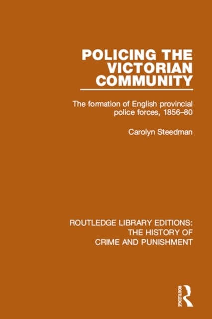 (ebook) Policing the Victorian Community