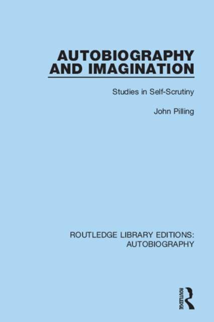 Autobiography and Imagination