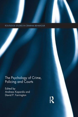 (ebook) The Psychology of Crime, Policing and Courts