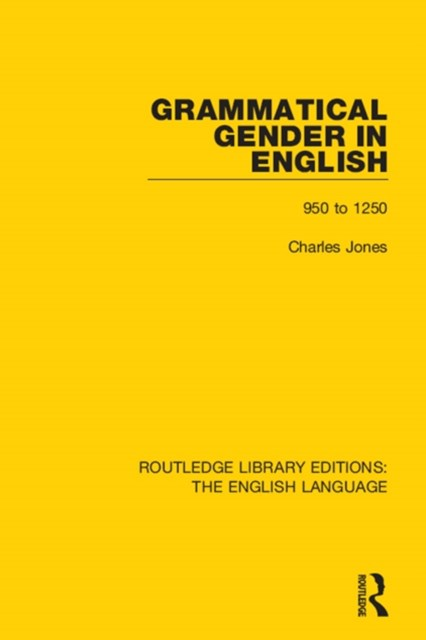 Grammatical Gender in English